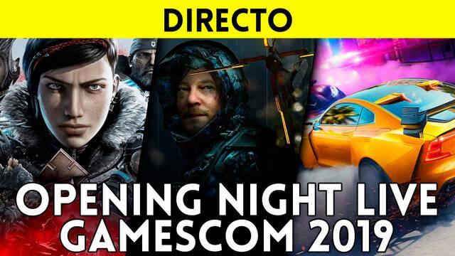 Opening Night Live gamescom 2019: Sigue aquí la retransmisión en DIRECTO