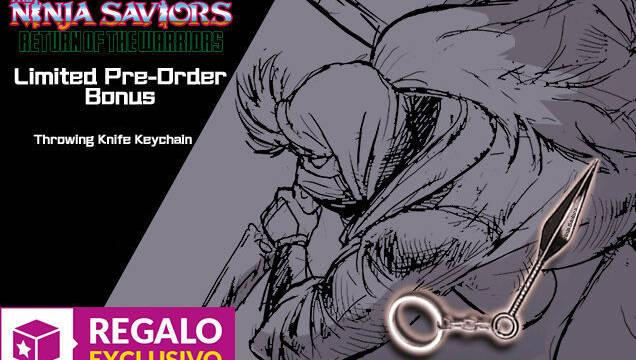 GAME anuncia su incentivo por reserva para The Ninja Saviors - Return of the Warriors