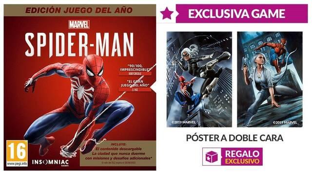 Game detalla los incentivos por la compra de Spider-Man GOTY