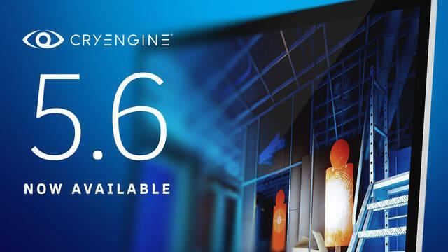 El CryEngine se actualiza a la versión 5.6 introduciendo muchas novedades y cambios