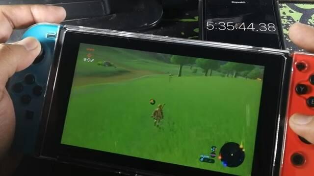 Switch Revisada: La batería ejecuta Zelda: Breath of the Wild durante más de 5 horas