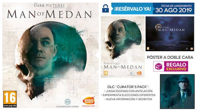 GAME detalla su regalo por reserva exclusivo para Man of Medan