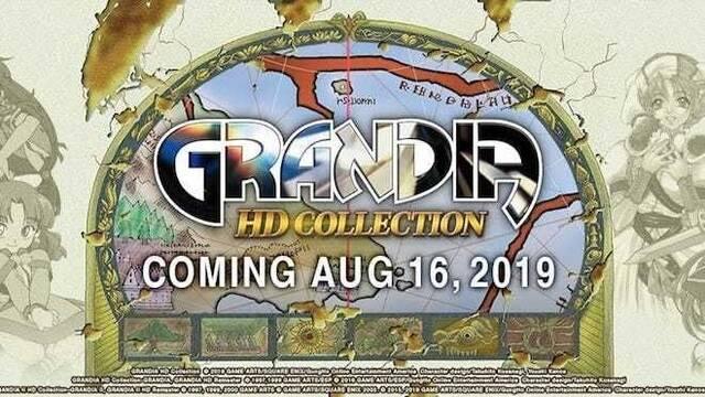 Grandia HD Collection llegará a Nintendo Switch el 16 de agosto