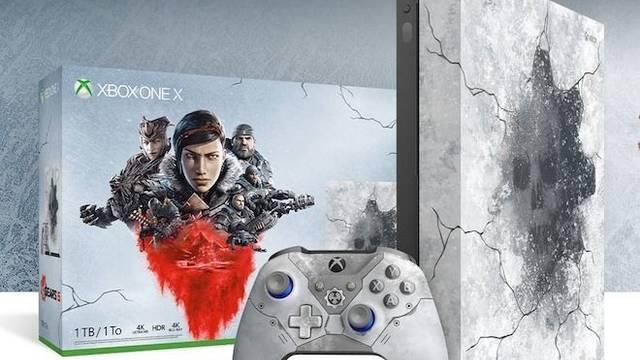 Gears 5: Así es la nueva edición limitada de Xbox One X