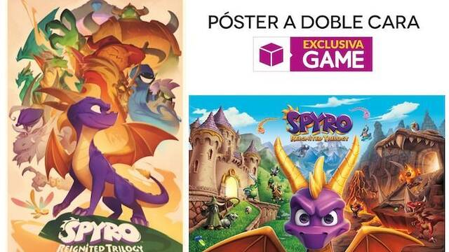 GAME detalla sus regalos por reserva exclusivos para Spyro Reignited Trilogy en Switch