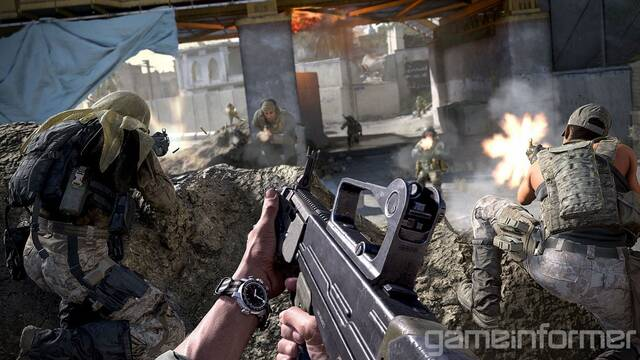 Call of Duty: Modern Warfare incluye un minijuego tipo Tamagotchi