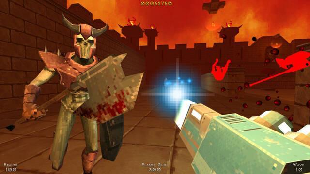 Demon Pit se lanzará este año en PC y consolas inspirándose en los títulos de los 90
