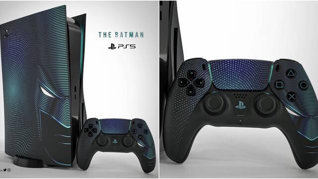 Falsa PS5 de Batman