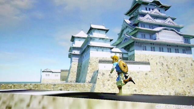 Imágenes de contenido recortado en Zelda: Breath of the Wild