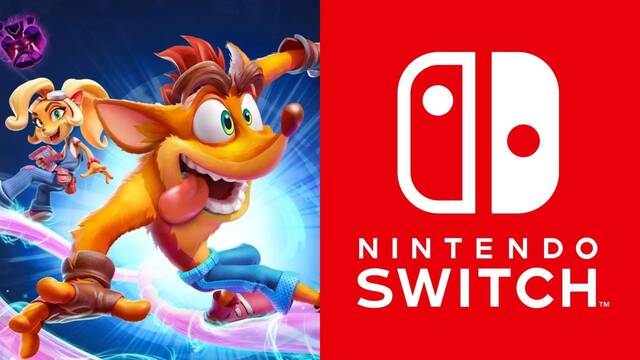 Crash Bandicoot 4 podría llegar a Nintendo Switch.