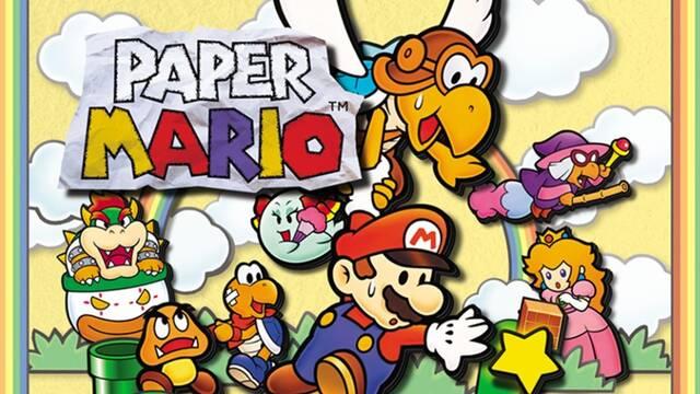 Paper Mario cumple 20 años.