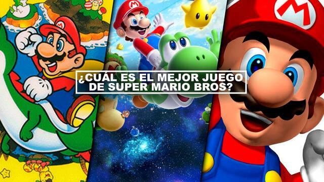 ¿Cuál es el mejor juego de Super Mario Bros? TOP 18