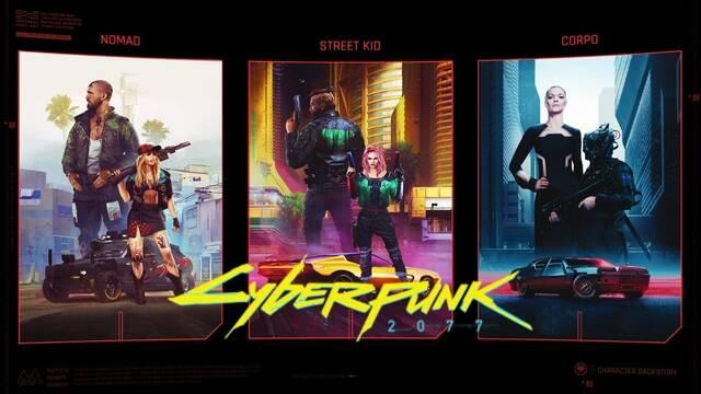 Cyberpunk 2077 y sus trasfondos para los personajes