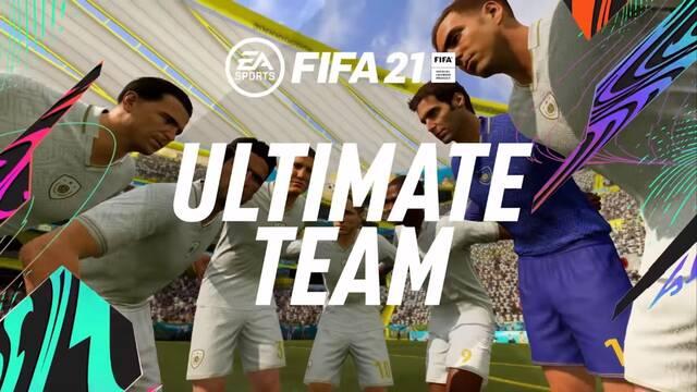 Así es el modo FUT de FIFA 21.