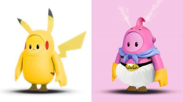 Imaginan disfraces de Dragon Ball y Pokémon en Fall Guys.