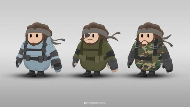 Así sería Metal Gear en Fall Guys