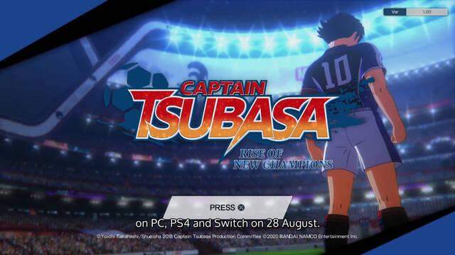 Captain Tsubasa: Rise of New Champions tutorial gameplay Oliver y Benji