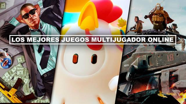 Los MEJORES juegos online para PC, PS4, Xbox, Switch, iOS y Android