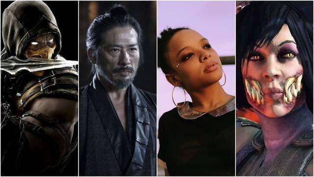 Todos los actores de la nueva película de Mortal Kombat.