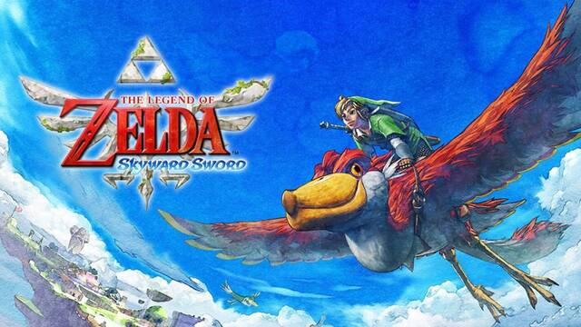 Zelda Skyward Sword para Switch
