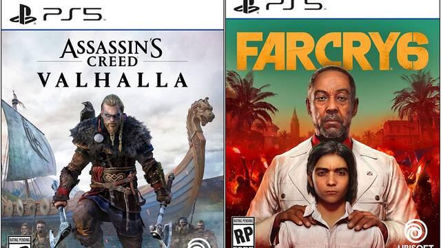 Carátulas de Ubisoft en PS5