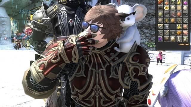 Final Fantasy XIV: Un jugador se come 999 huevos en público.