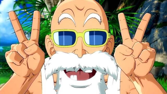 Master Roshi en Dragon Ball FighterZ