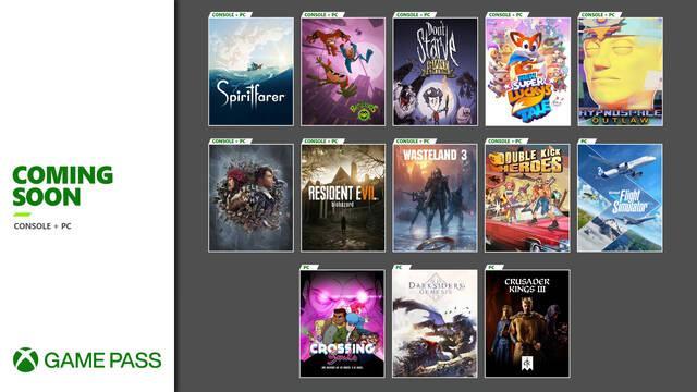Xbox Game Pass agosto septiembre