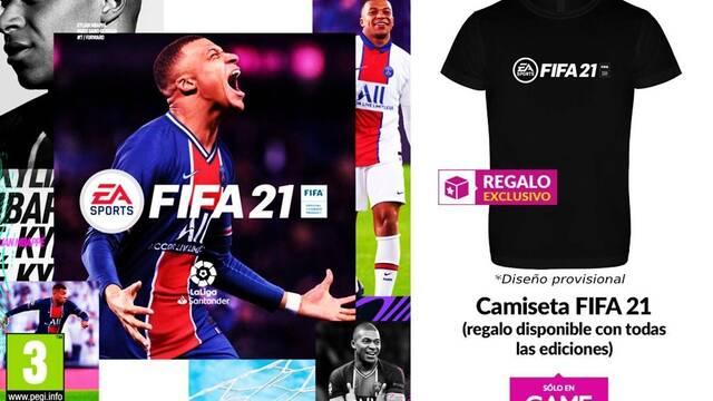 FIFA 21 y su reserva en GAME
