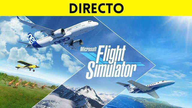 Directo de Microsoft Flight Simulator 2020