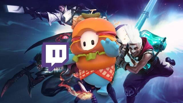 Fall Guys es ya el juego más visto en Twitch, superando a League of Legends.