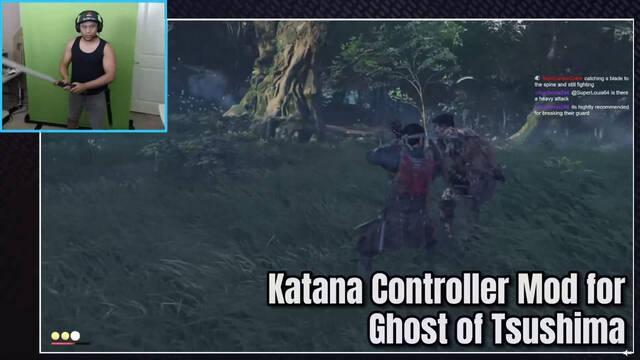 Ghost of Tsushima y la katana para jugar