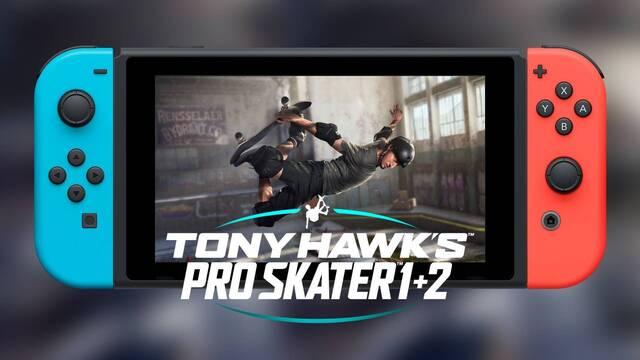 Pistas apuntan a un posible lanzamiento de Tony Hawk's Pro Skater 1+2 en Switch.