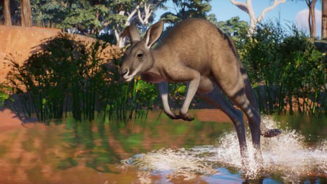 Planet Zoo anuncia un nuevo DLC australiano.