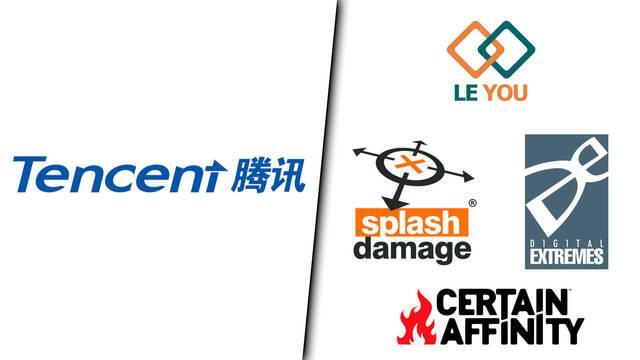 Tencent compra Splash Damage, Digital Extremes y más