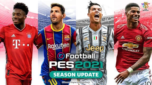 eFootball PES 2021 Portada