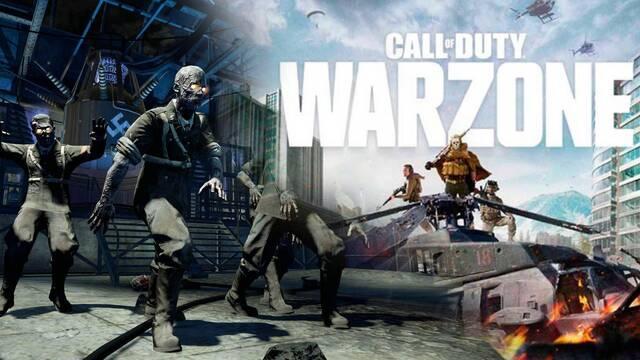 Descubren la posible llegada de un modo zombis a Call of Duty: Warzone.
