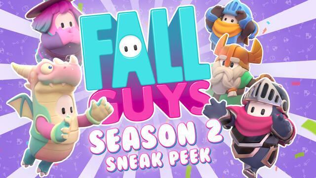 Fall Guys Temporada 2 skins recompensas
