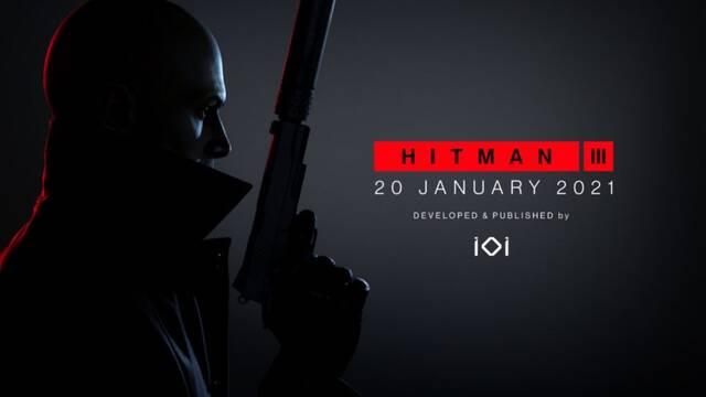 Hitman 3 desvela su fecha de lanzamiento en PS5, PS4, Xbox One, Xbox Series X y PC.
