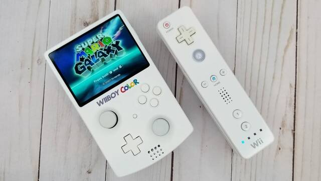 Así sería Wii si fuera una consola portátil.