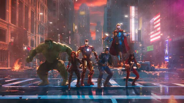 Marvel's Avengers Tráiler CGI