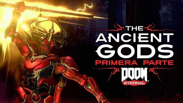 The Ancient Gods expansión independiente Doom Eternal