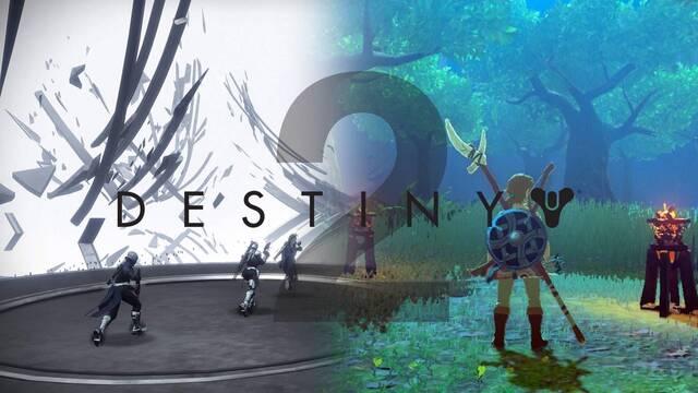 Destiny 2 se inspira en The Legend of Zelda para una misión.