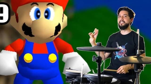 Un speedrunner consigue un récord en Super Mario 64 con una batería en lugar de mando.
