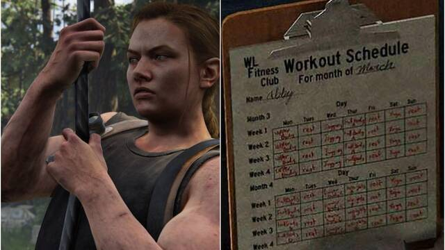 The Last of Us 2 y los ejercicios de Abby
