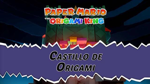 Castillo de Origami al 100% en Paper Mario: The Origami King