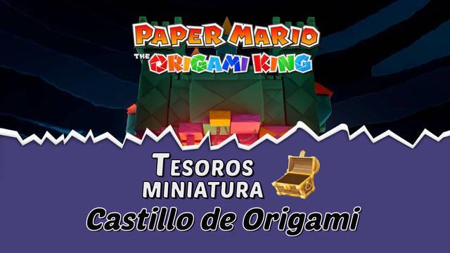TODOS los tesoros en Castillo de Origami de Paper Mario The Origami King