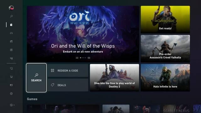 Xbox presenta la nueva Microsoft Store de Xbox One.