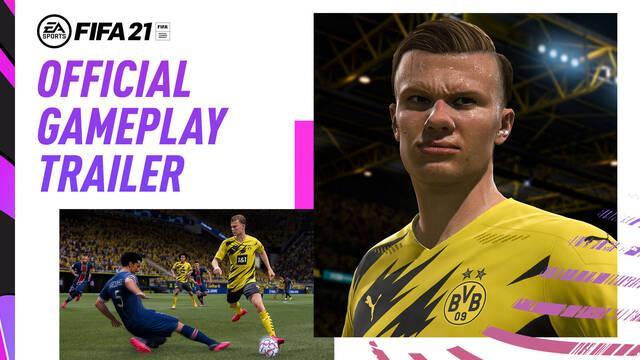 Primer tráiler gameplay de FIFA 21.