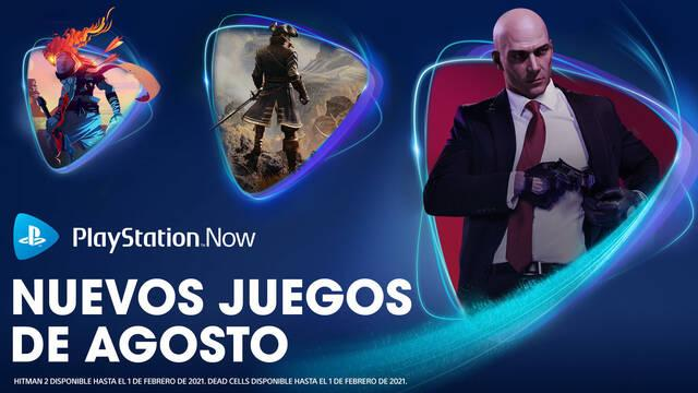 PS Now Hitman 2, GreedFall y Dead Cells